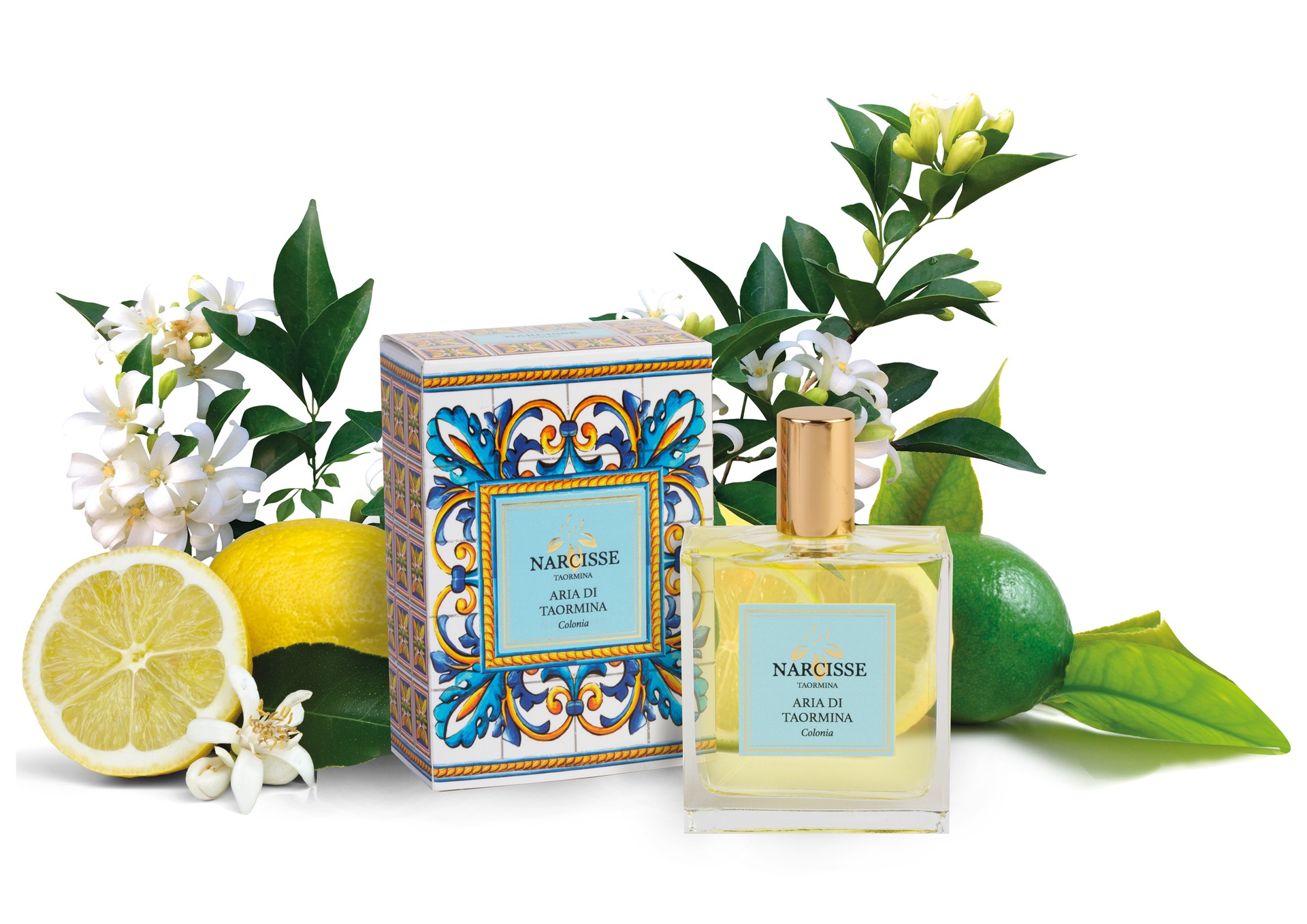 Air of Taormina, a perfume of the Narcisse collection