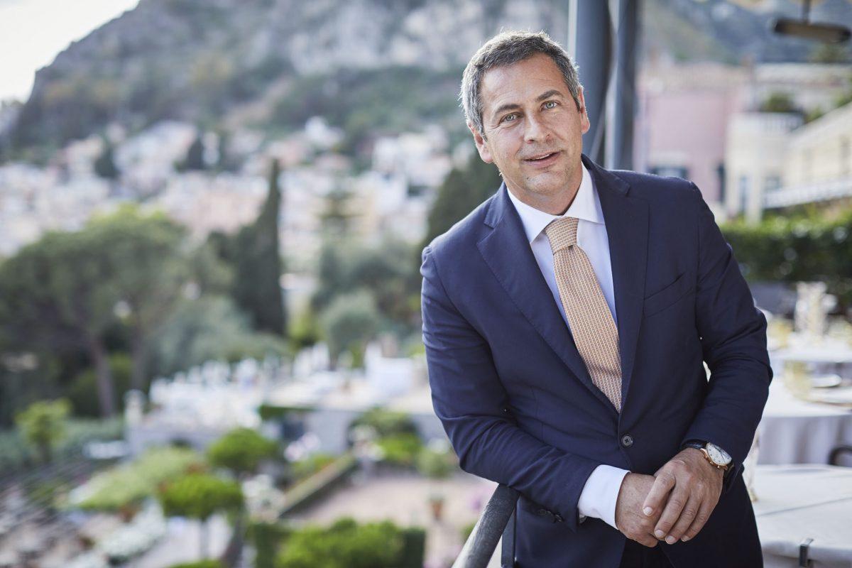 Ritratto di Stefano Gegnacorsi, General Manager del Belmond Grand Hotel Timeo di Taormina